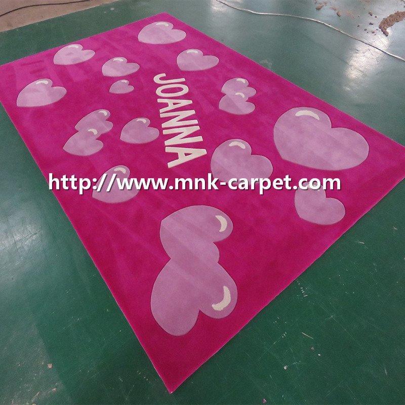 MNK Handtufted Carpet Custom Design Kids Room Rug