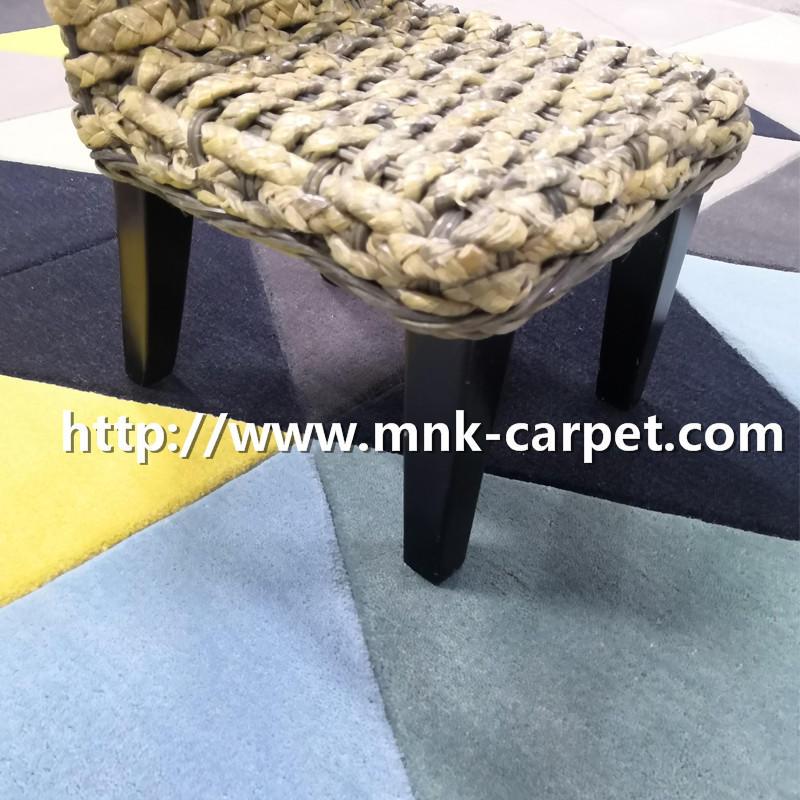 Custom Pattern Handtufted Carpet Modern Area Rug