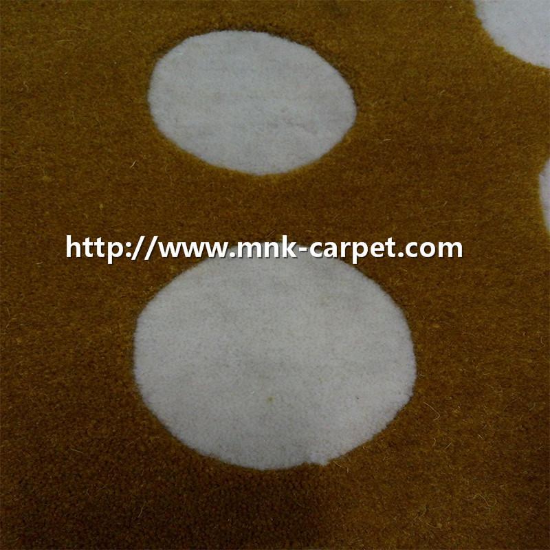 MNK High Quality Wool Carpet Modern Meeting Room Rug