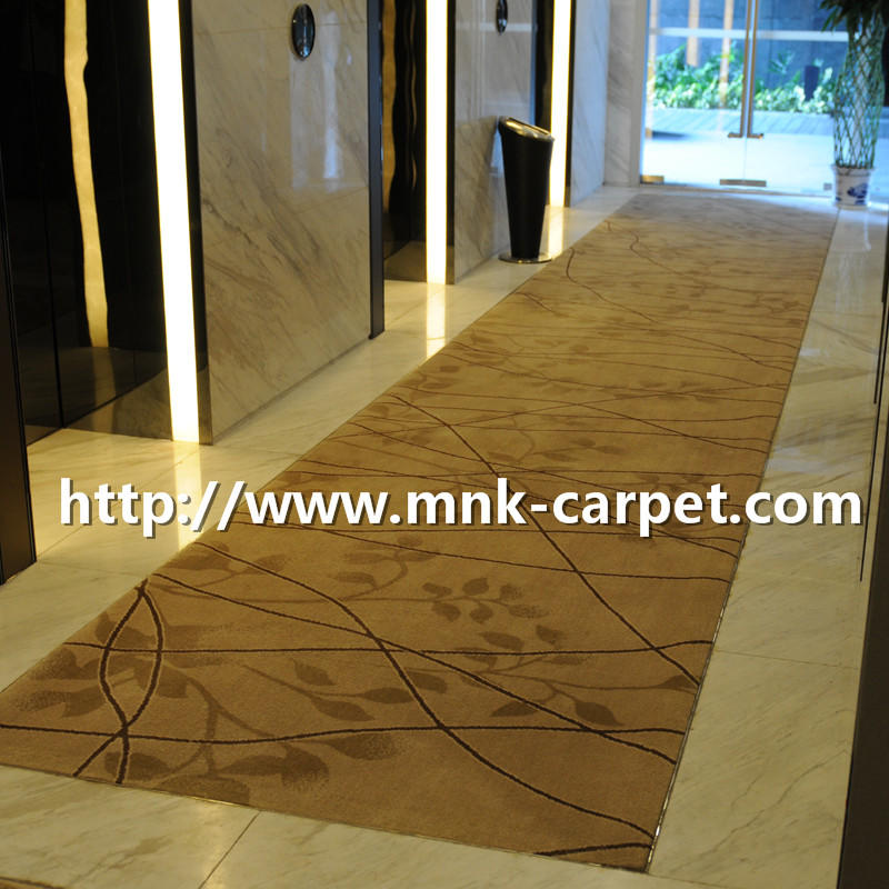 MNK Axminster Carpet Modern Design Carpet For Hotel Corridor