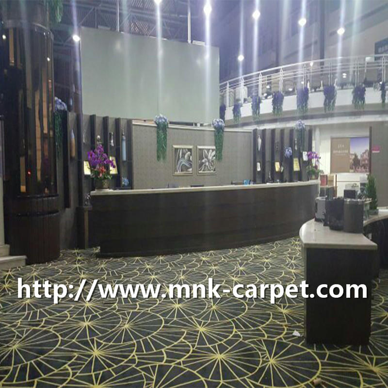 MNK Custom Design Carpet Wall To Wall Banquet Hall Carpet