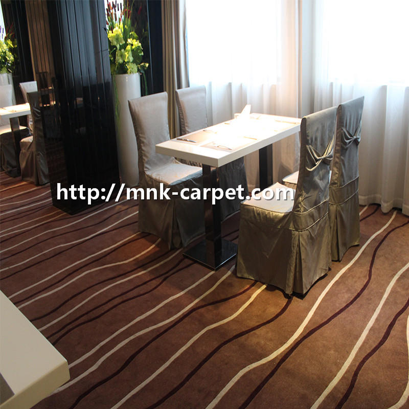 MNK Wall To Wall Nylon Carpet Fireproof Hotel Carpet