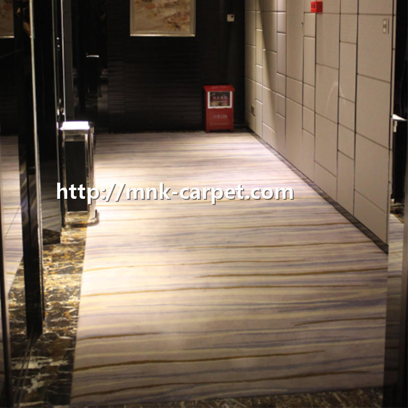 MNK Custom Pattern Carpet Wall To Wall Hotel Lobby Carpet