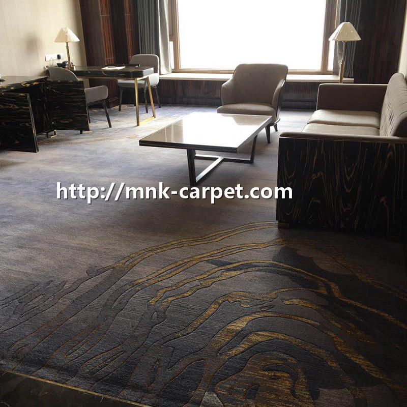 MNK Wall To Wall Bedroom Carpet Hotel Decoration Carpet