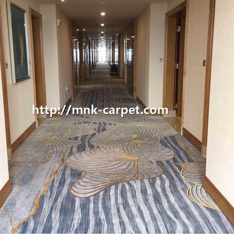 MNK Wall To Wall Corridor Carpet Modern Hotel Carpet