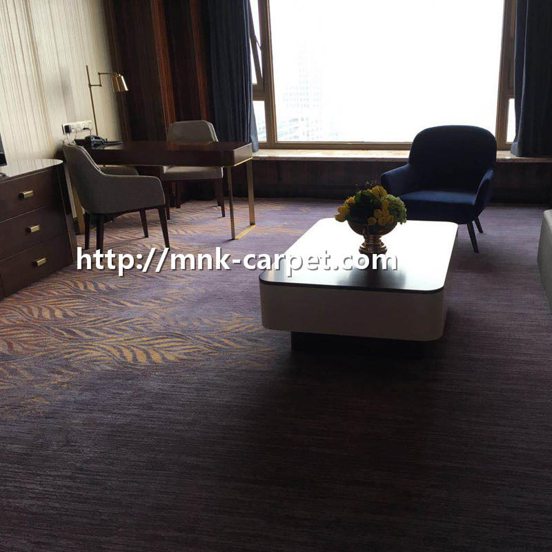 MNK Wall To Wall Hotel Carpet Nylon Carpet For Bedroom