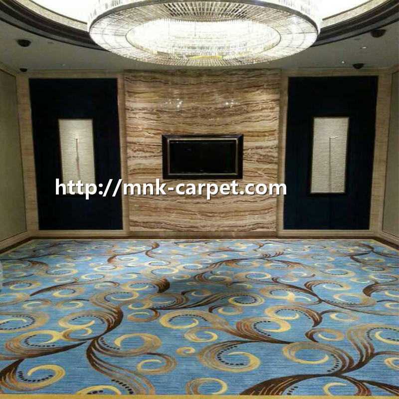 MNK Wall To Wall Printed Carpet Modern Design Elevator Carpet