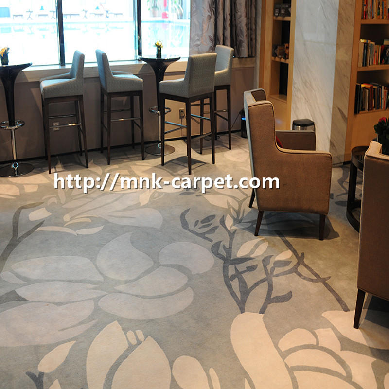 MNK Fireproof Nylon Carpet Wall To Wall Banquet Hall Carpet