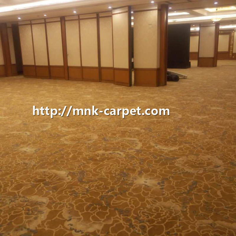 MNK Axminster Carpet Wall To Wall Banquet Hall Hotel Carpet