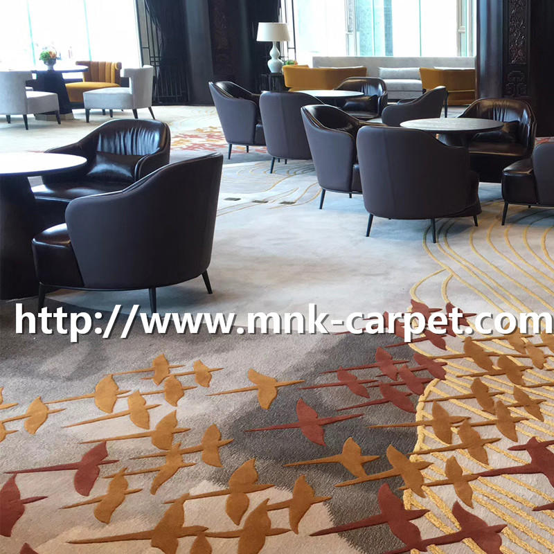 MNK Axminster Carpet Custom Design Wool Carpet