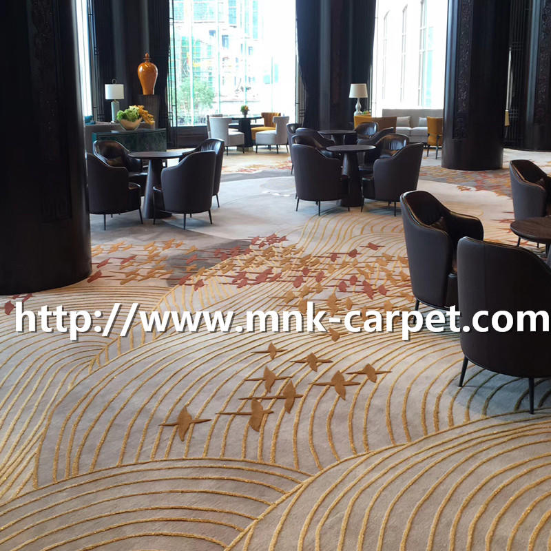 MNK Wall To Wall Carpet Modern Design Hotel Hall Carpet