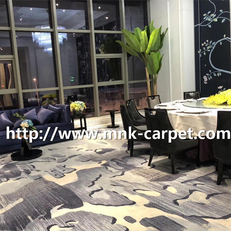 MNK Axminster Carpet Wall To Wall Restaurant Carpet