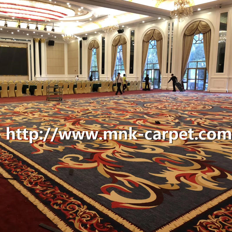 MNK Hotel Carpet Luxury Banquet Hall Wall To Wall Carpet