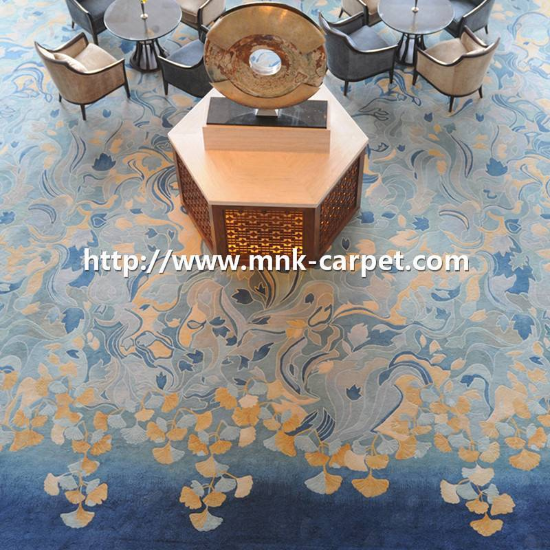 MNK Handtufted Carpet Wall To Wall Banquet Hall Carpet