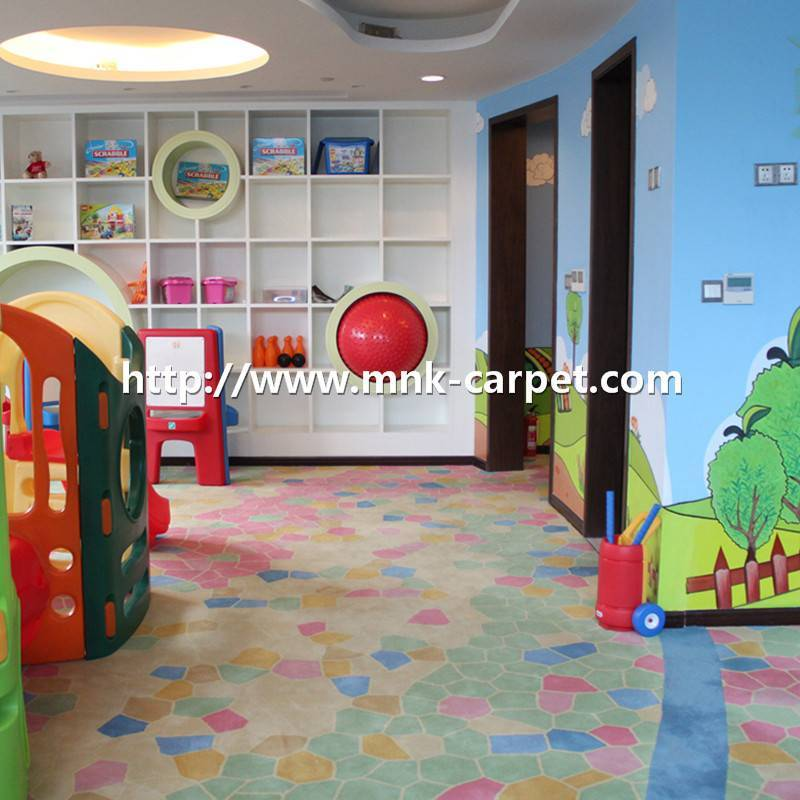 MNK Handtufted Carpet Wall To Wall Kids Room Carpet
