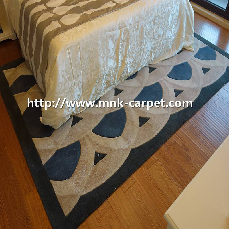 high quality handtufted carpet for master room