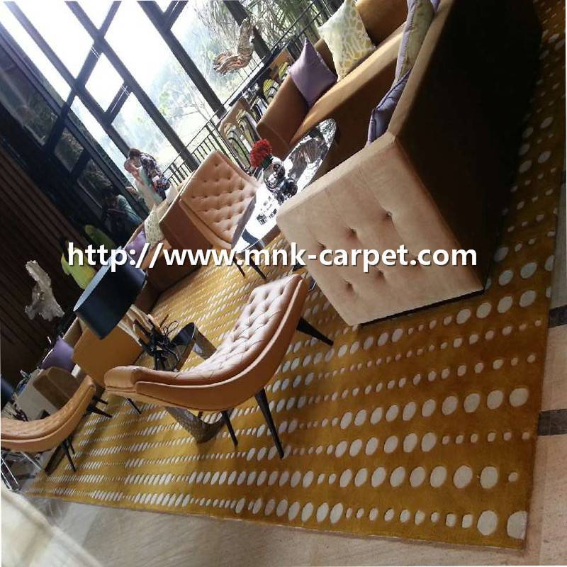 MNK High Quality Wool Carpet Modern Meeting Room Rug