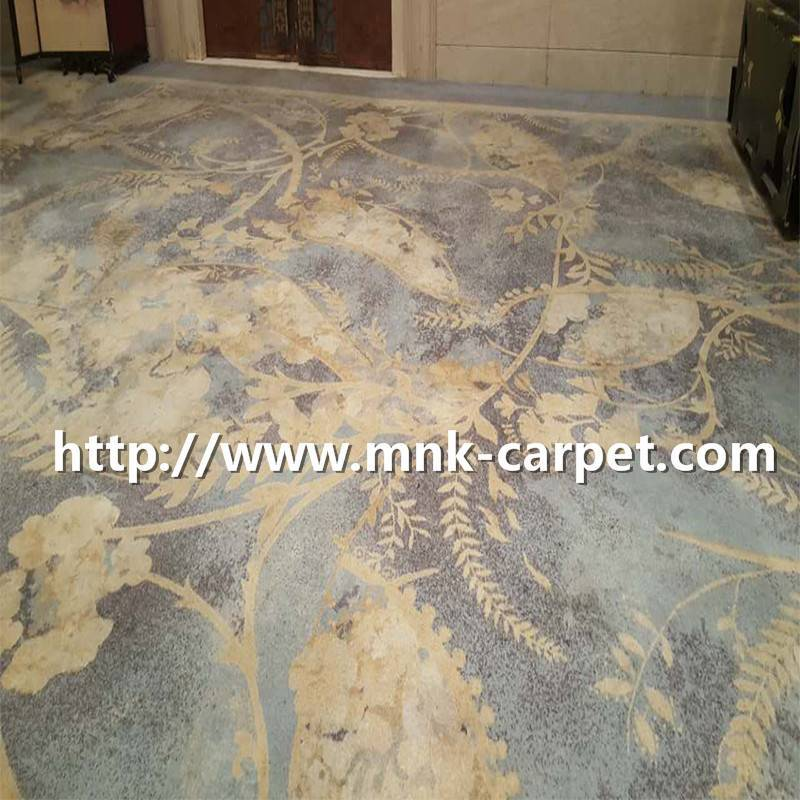 MNK Custom Pattern Axminster Carpet Wall To Wall Meeting Room Carpet