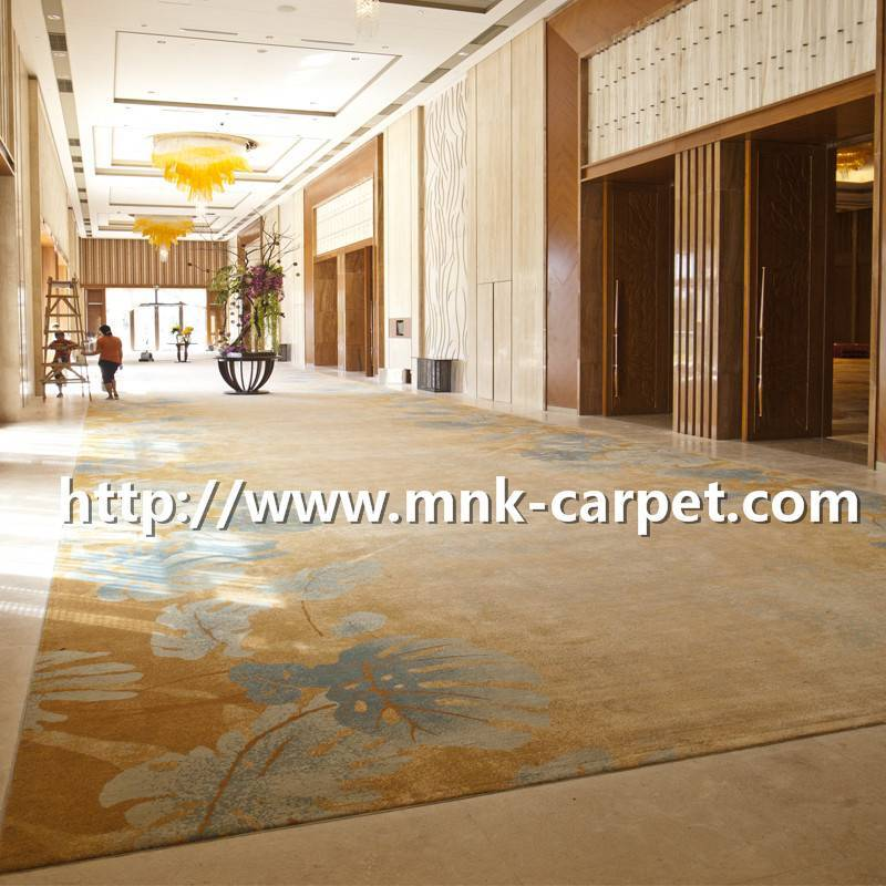 MNK Axminster Carpet Modern Design Hotel Carpet