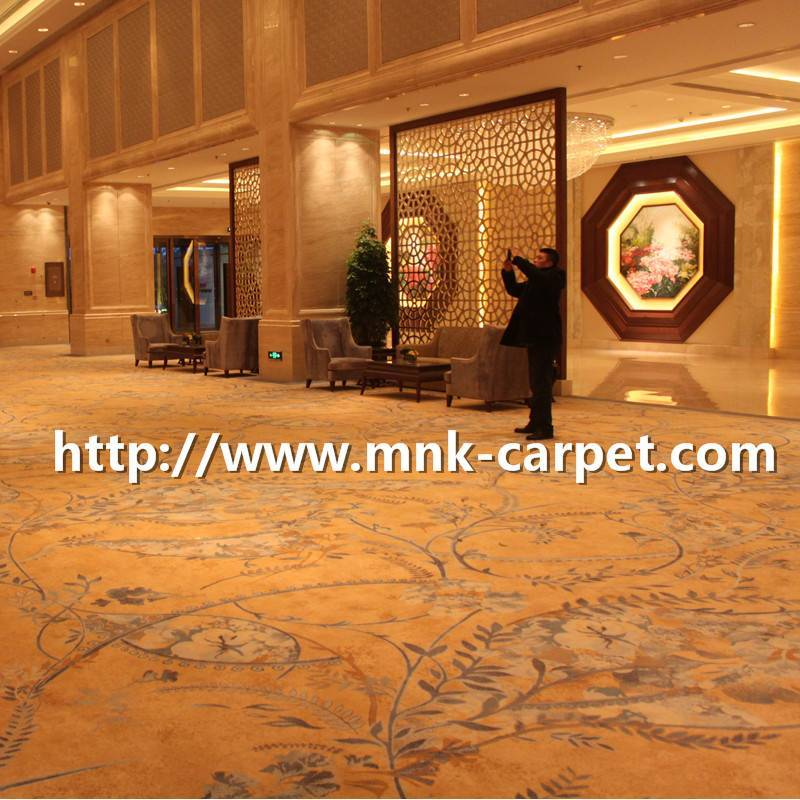 Luxury axminster Carpet Wool Axminster Carpet for Hotel