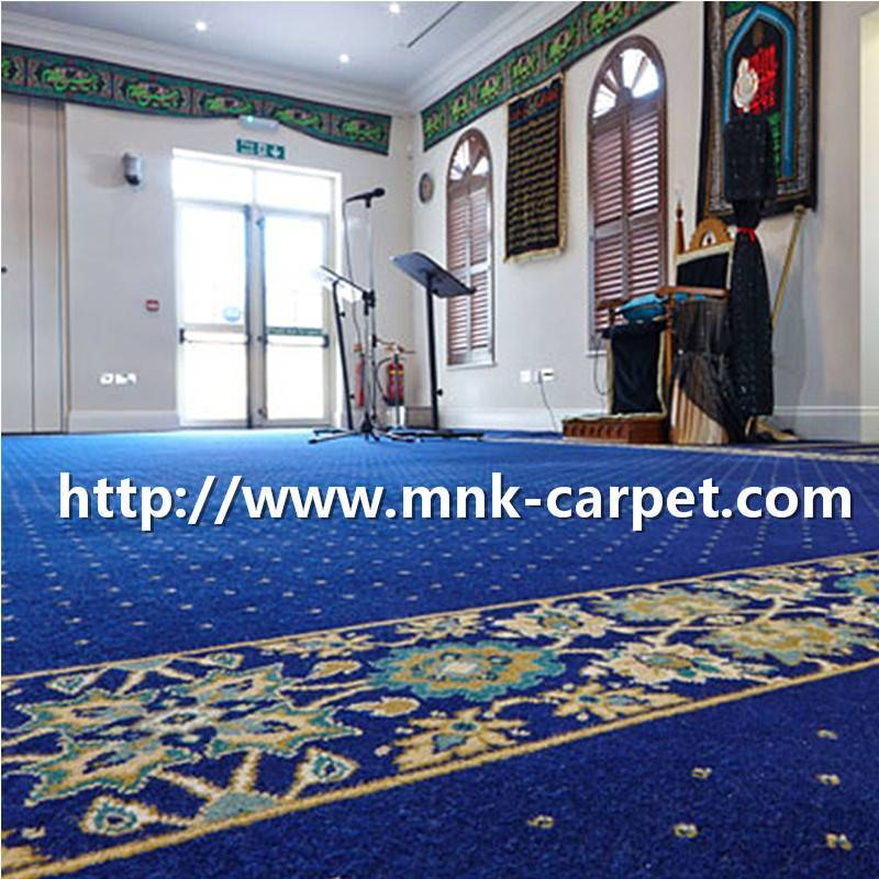 Playroom Axminster Carpet Customized Hotel Corridor Carpet