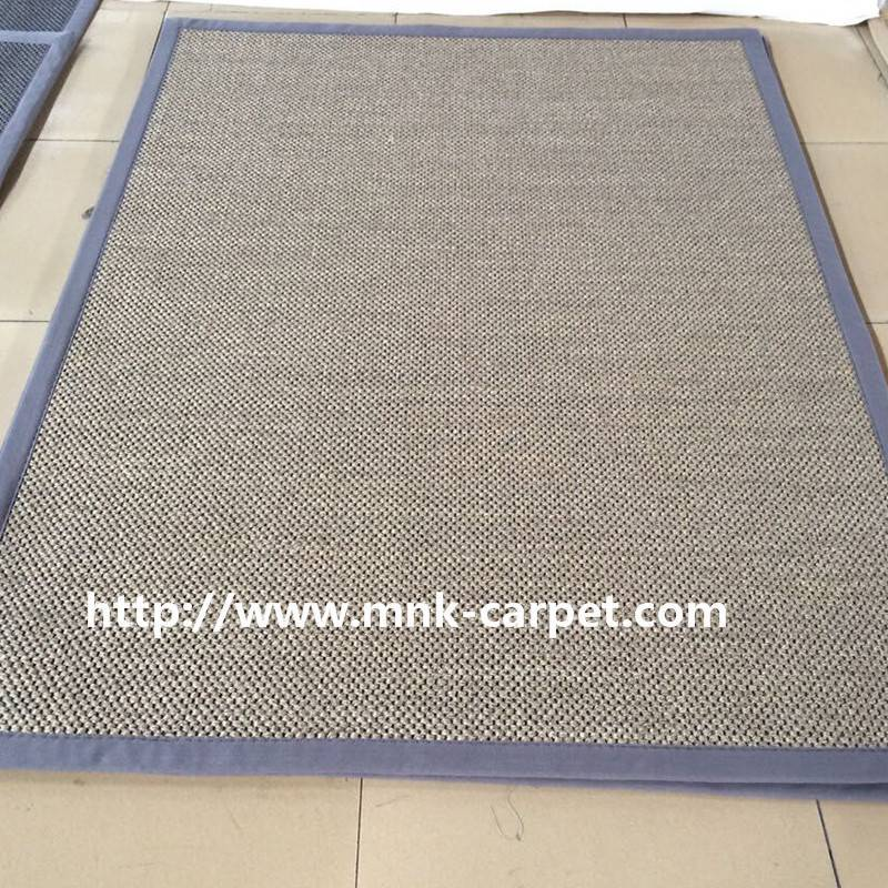 MNK Natural Sisal Carpet Simple Design Floor Rug