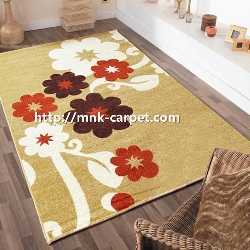 MNK Printed Nylon Carpet Custom Design Area Rug