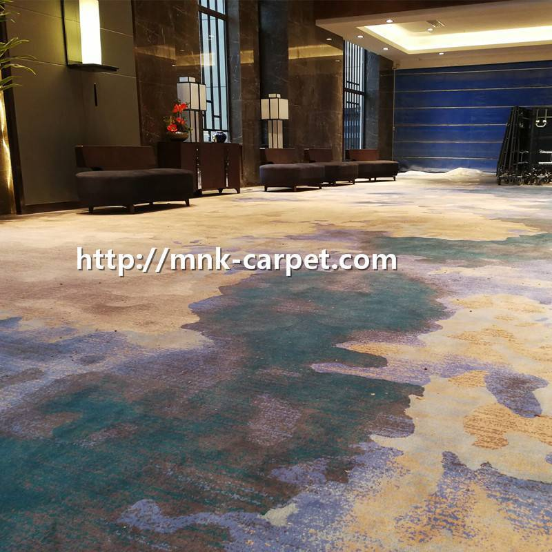 MNK Nylon Wall To Wall Carpet Hotel Lobby Carpet