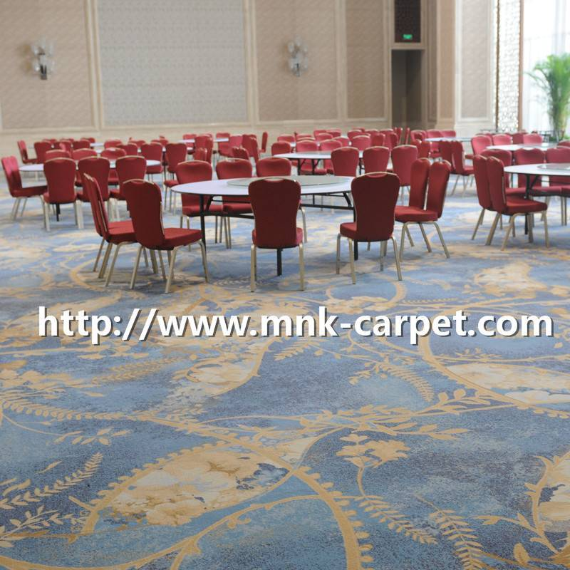MNK Axminster Carpet Wall To Wall Hotel Banquet Hall Carpets